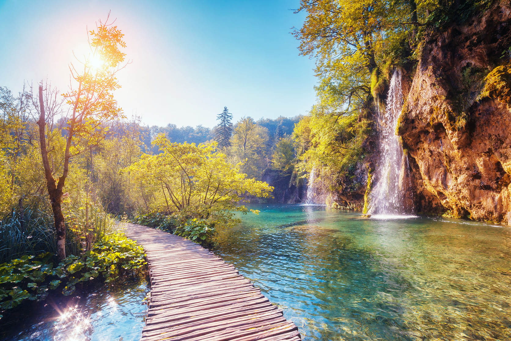 Plitvice Lakes National Park Tour from Split