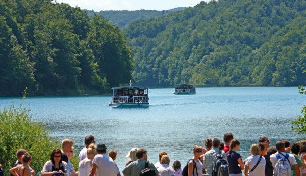 Plitvice Lakes boat tour from Split