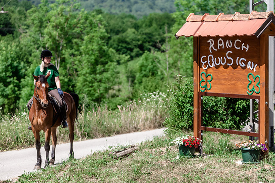 Horseback riding plitvice lakes