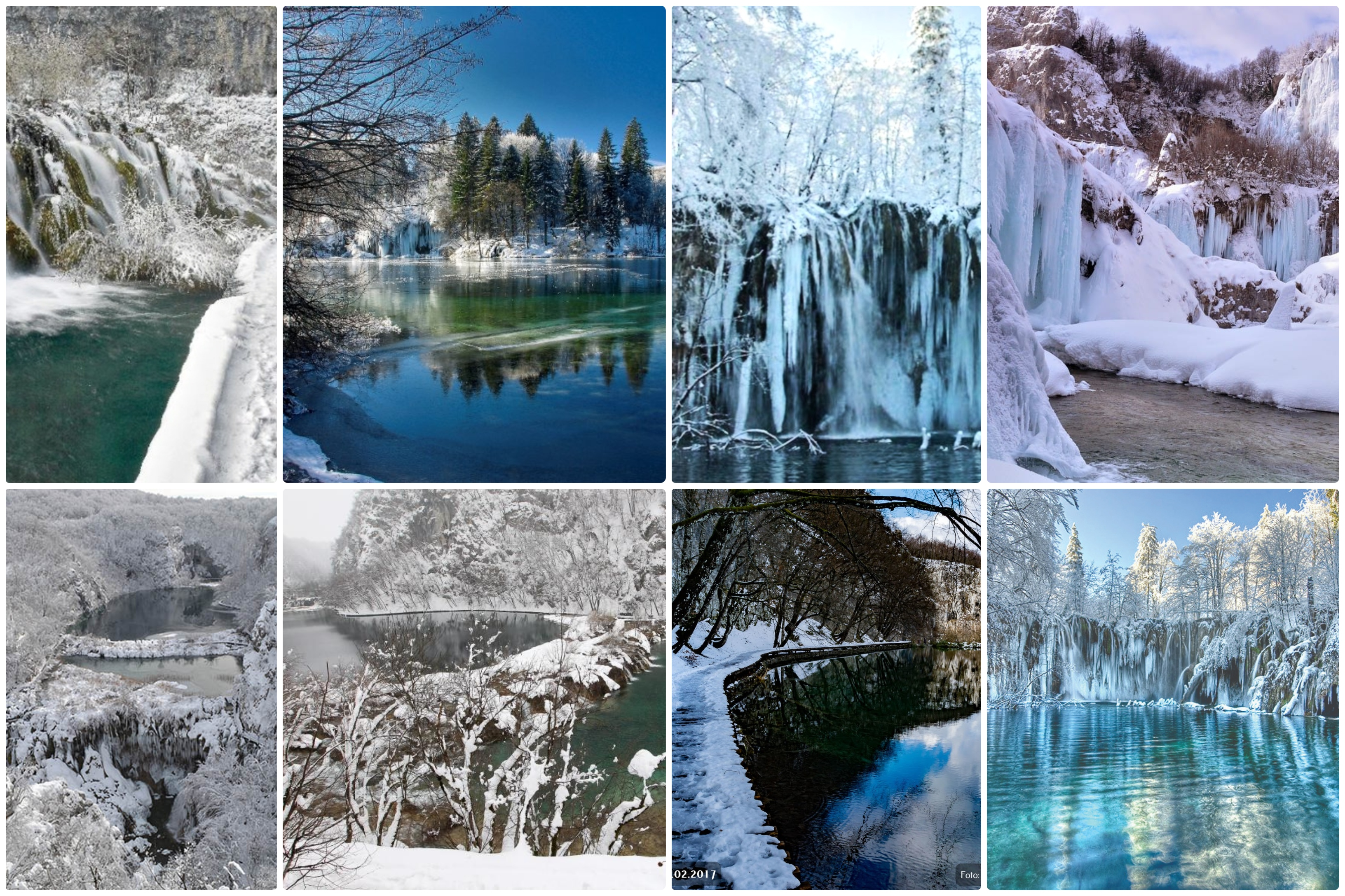 The Winter Wonderland Of Plitvice Lakes Amazing Natural Beauty